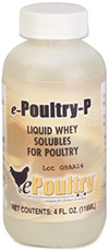 ePoultry P - 4 oz bottle